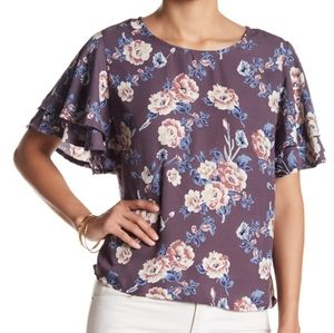 Romeo & Juliet Couture floral blouse